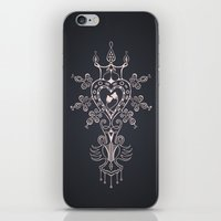 Heart Rules iPhone & iPod Skin