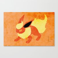 Flareon Canvas Print