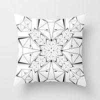 Arctic Skulk Throw Pillow