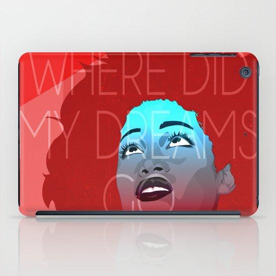 Where are my dreams? iPad Case