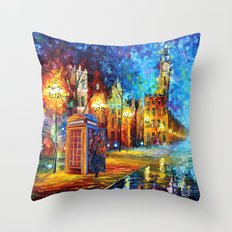 Sherlock and Big ben starry the night iPhone 4 4s 5 5c 6, pillow case, mugs and tshirt Throw Pillow