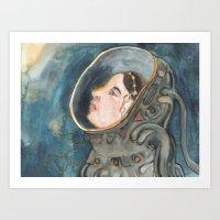 Space Magic Art Print