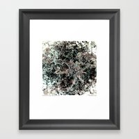 With Sorrow In My Heart Framed Art Print