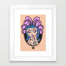 Hoochi Mama Framed Art Print