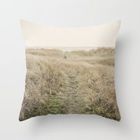 Ocean Trail Throw Pillow