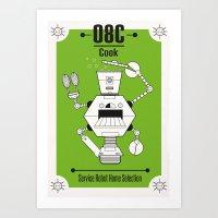 Robo03 Art Print
