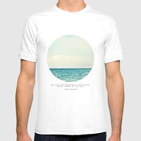 Salt Water Cure Mens Fitted Tee White SMALL