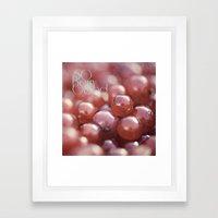 SO Berry Good Framed Art Print