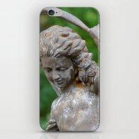 Backyard Statue iPhone & iPod Skin