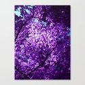purple tree XXXIV Canvas Print