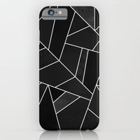iPhone Cases featuring Black Stone by Elisabeth Fredriksson