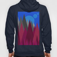 Landscape Abstract Colou… Hoody
