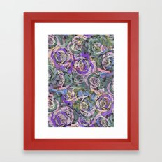 Rosey Framed Art Print