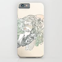 iPhone & iPod Case featuring I N K : III by Cassidy Rae Limbach