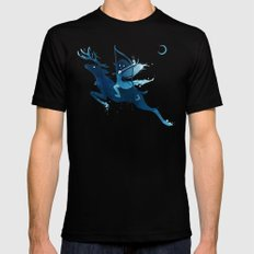Elf Archer Mens Fitted Tee Black SMALL