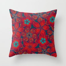 NEW BAUHINIA Throw Pillow
