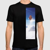Super Bears - ACTION! the Invincible One Mens Fitted Tee Black SMALL