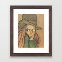 Undercover Framed Art Print