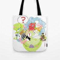 Wild Life Tote Bag