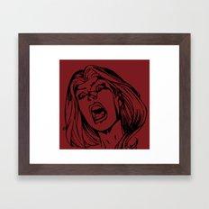 Bride of the Monster Framed Art Print