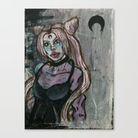 Wicked Lady Canvas Print