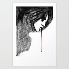 bl33d4m3 Art Print