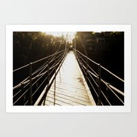 Bridge Art Print