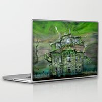 Laptop & iPad Skin featuring The Ghosthouse by teddynash