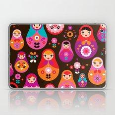 Russian Dolls Illustrati… Laptop & iPad Skin