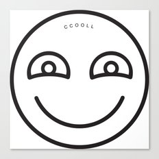 CCOOLL Smiley Canvas Print