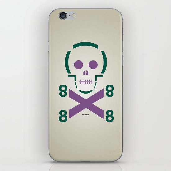 HELLvetica iPhone & iPod Skin