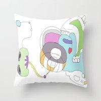 Funland 2 Throw Pillow