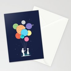 You are my universe Stationery Cards
