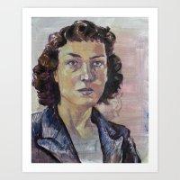 Philippa Foot Art Print