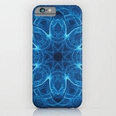 Blue Light Mandala iPhone 6 Slim Case
