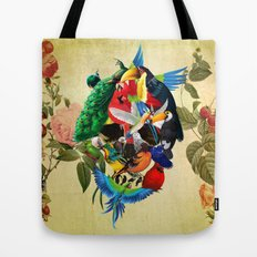 Avian skull Tote Bag