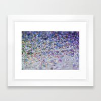 Glitzerklimbim Framed Art Print