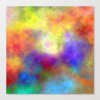 Oh So Colorful Canvas Print