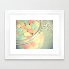 Tropical Jelly Beans Framed Art Print