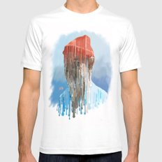 Steve Zissou SMALL White Mens Fitted Tee