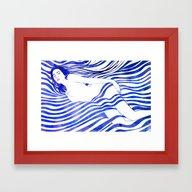 Framed Art Print featuring Water Nymph XIV by Stevyn Llewellyn