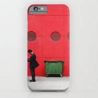 iPhone & iPod Case featuring Red Hong Kong by Gal Raz