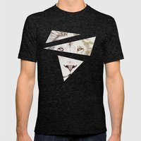 The Intellectual Lion Mens Fitted Tee Tri-Black SMALL