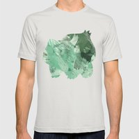Bulba-saur Mens Fitted Tee Silver SMALL