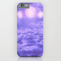 iPhone Cases featuring Uncertain. Alone. Cratered by Imperfections. (Loyal Moon II) by soaring anchor designs