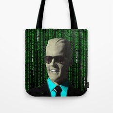 max meets matrix Tote Bag