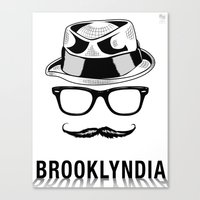Brooklyndia Canvas Print
