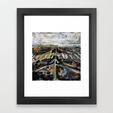 Gather No Dust Framed Art Print