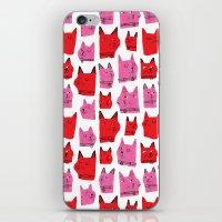 Love Cats! iPhone & iPod Skin