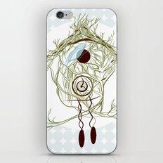 Coo coo clock iPhone & iPod Skin